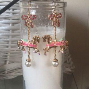Disney's Mary Poppins carousel horses earrings!